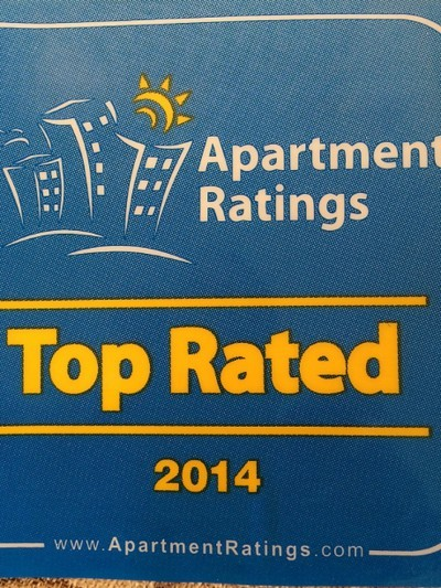 Perfect The Wonderful Letter We Received From Apartment Ratings Regarding Our  Prestigious Award!